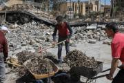تحذيرات من كارثة بيئية بسبب عدم انتشال جثث قتلى داعش من احياء الموصل القديمة